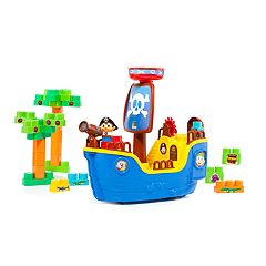 Molto 30-Piece Pirate Ship Blocks Set