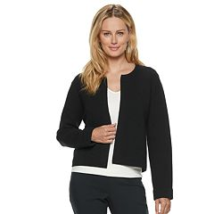Women's ELLE™ Textured Open-Front Jacket