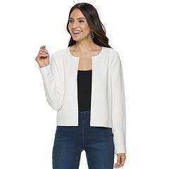 Women's ELLE™ Textured Open-Front Jacket