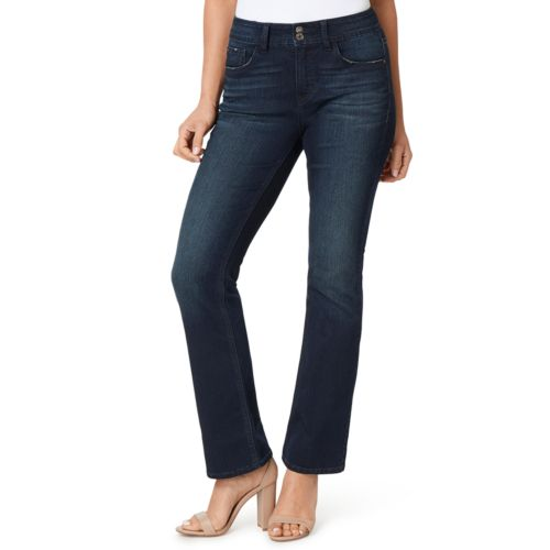 Women's Angels Curvy Fit Bootcut Jeans by Angels