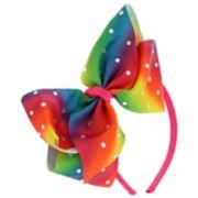 Girls 4-16 Elli by Capelli Rainbow Bow Headband