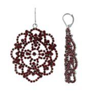 Simply Vera Vera Wang Lace Drop Earrings