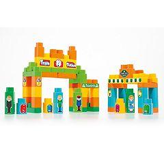 Molto 120-Piece Train Block Box
