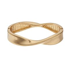 SONOMA Goods for Life™ Gold Tone Twist Detail Cuff Bracelet
