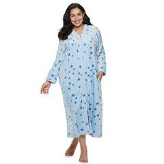 Women's Croft & Barrow® Plush Zip Robe