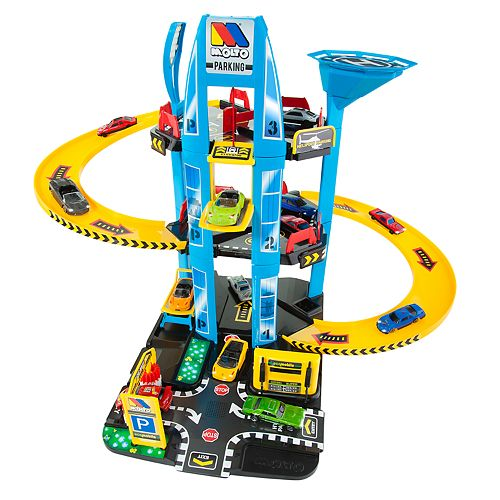 Molto 3-Story Parking Playset