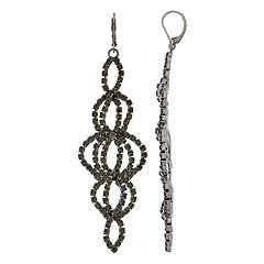 Simpy Vera Vera Wang Beaded Chain Earrings