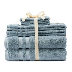 SONOMA Goods for Life® Ultimate Coastal Solid 6-pack Bath Towel Set
