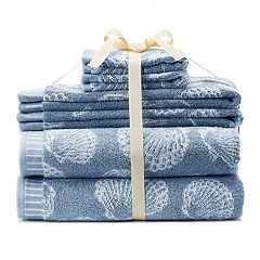 SONOMA Goods for Life® Ultimate Coastal 6-pack Bath Towel Set