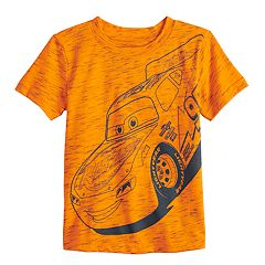Disney / Pixar Cars Toddler Boy Lightning McQueen Slubbed Graphic Tee by Jumping Beans®