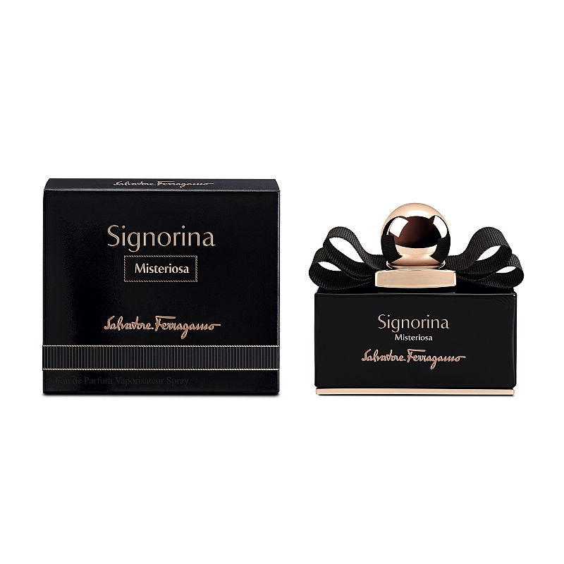 Salvatore Ferragamo Signorina Misteriosa Women's Perfume - Eau de Parfum, Size: 1.7 Oz Salvatore Ferragamo emerges with a mysteriously daring fragrance, that unlocks the unpredictable side of chic girls. FRAGRANCE DETAILS Top notes: Wild Blackberry, Neroli Middle notes: Orange Blossom, Tuberose Base notes: Black Vanilla Mousse, Patchouli FRAGRANCE DETAILS 50 ml Eau de parfum Due to its contents, this product cannot be shipped via our Priority Service or sent to Alaska, Hawaii, and/or APO/FPO military addresses. Size: 1.7 Oz. Color: Multicolor. Gender: female. Age Group: adult.