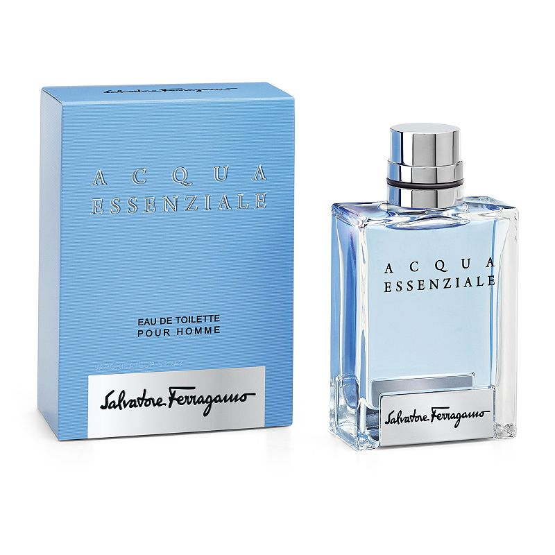 Salvatore Ferragamo Acqua Essenziale Men's Cologne - Eau de Toilette, Size: 1.7 Oz Acqua Essenziale by Salvatore Ferragamo is a fresh fragrance for men. You'll never get tired of this vibrant blend of mint, sea notes and lemon leaf. FRAGRANCE NOTES Mint, lemon leaf, geranium, rosemary, lavender, sea notes, patchouli, vetiver, musk and labdanum. FRAGRANCE DETAILS 50 ml Eau de toilette Due to its contents, this product cannot be shipped via our Priority Service or sent to Alaska, Hawaii, and/or APO/FPO military addresses. Size: 1.7 Oz. Color: Multicolor. Gender: male. Age Group: adult.