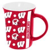 Wisconsin Badgers Line Up Coffee Mug