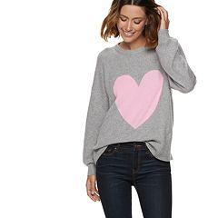 Women's POPSUGAR Print Balloon-Sleeve Sweater