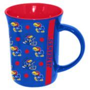 Kansas Jayhawks Line Up Coffee Mug