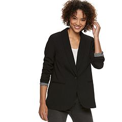 Women's POPSUGAR Essential Plaid Blazer