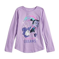 Disney's Vampirina Girls 4-10 'Chase Your Dreams' Graphic Tee by Jumping Beans®