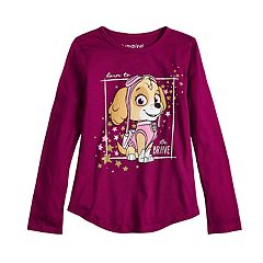 Girls 4-10 Paw Patrol Skye 'Born To Be Brave' Graphic Tee