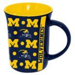 Michigan Wolverines Line Up Coffee Mug