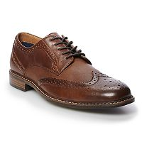 Deals on Apt. 9 Mylo Mens Leather Wingtip Dress Shoes