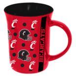 Cincinnati Bearcats Line Up Coffee Mug