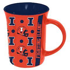 Illinois Fighting Illini Line Up Coffee Mug