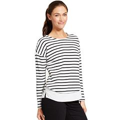 Women's IZOD Mock-Layered Sweatshirt