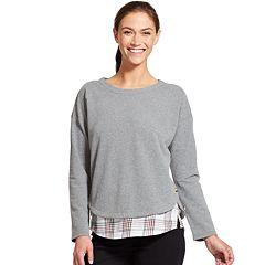 Women's IZOD Mock-Layered Sweatshirt