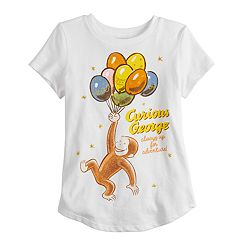 Girls 4-10 Jumping Beans® Curious George Graphic Tee