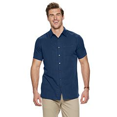 Big & Tall Van Heusen Air Classic-Fit Striped Button-Down Shirt