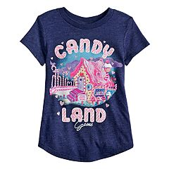 Girls 4-10 Jumping Beans® Candy Land Game Graphic Tee