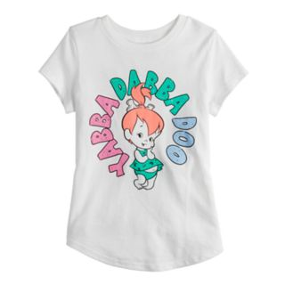 Girls 4-10 Jumping Beans® The Flintstones Pebbles Graphic Tee