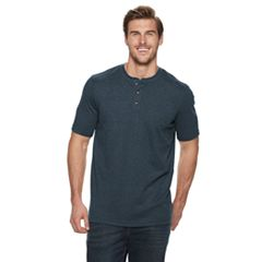 Big & Tall Croft & Barrow® Extra-Soft Classic-Fit Henley