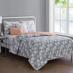 VCNY Brynley Reversible Quilt Set