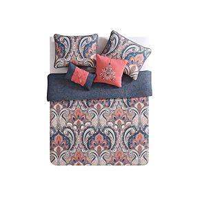 VCNY Casa Re'Al Reversible Quilt Set