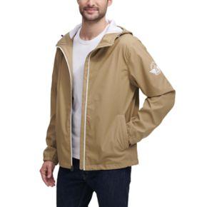 Men's Dockers Hooded Rain Jacket