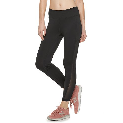 Women's Tek Gear® Performance Side Pocket Midrise Ankle Leggings