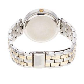 Studio Time Women's Crystal Two Tone Watch