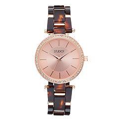 Studio Time Women's Crystal Watch