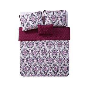 VCNY Lyndon Ogee Quilt Set