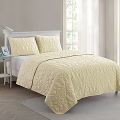 VCNY Shore Embossed Quilt Set