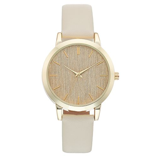 Women's Textured Dial Watch