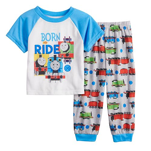 87881bf9a Toddler Boy Thomas the Train Top   Bottoms Pajama Set