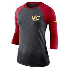 Women's Nike USC Trojans Vault Tee