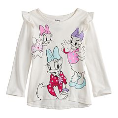Disney's Daisy Duck Toddler Girl Glittery Graphics Top by Jumping Beans®