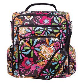 Trend Lab Bohemian Convertible Backpack Diaper Bag