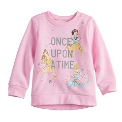 Disney Princess Toddler Girl 'Once Upon A Time' Softest Fleece Sweatshirt by Jumping Beans®