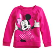 Disney's Minnie Mouse Toddler Girl Softest Fleece Pullover by Jumping Beans®