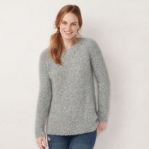 Women's LC Lauren Conrad Soft Raglan Sweater