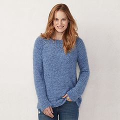 Women's LC Lauren Conrad Soft Raglan Sweater